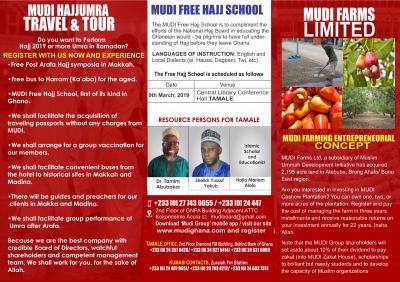 Free Hajj School | MUDI Group