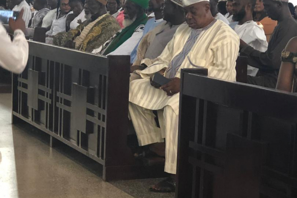 CHIEF IMAM AT 100, AND HIS PRESENCE IN A CHURCH